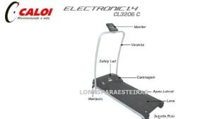 esteira caloi modelo cl 3206 300x169 Esteira Eletrônica   CL 3206 Caloi
