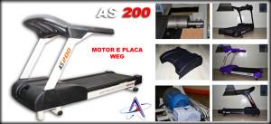 esteira ergometrica as200 300x137  Esteira Ergométrica Profissional AS200 Astro