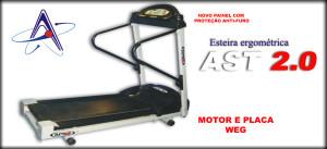 esteira ergometrica ast 300x137 Esteira Ergométrica Profissional AST 2.0