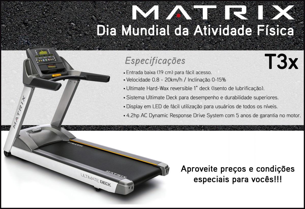 esteira matrix t3x Esteira Matrix T3X
