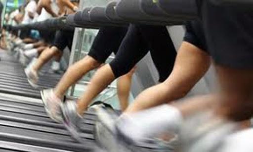 exercicio coxa afinar Esteira Afinar As Coxas