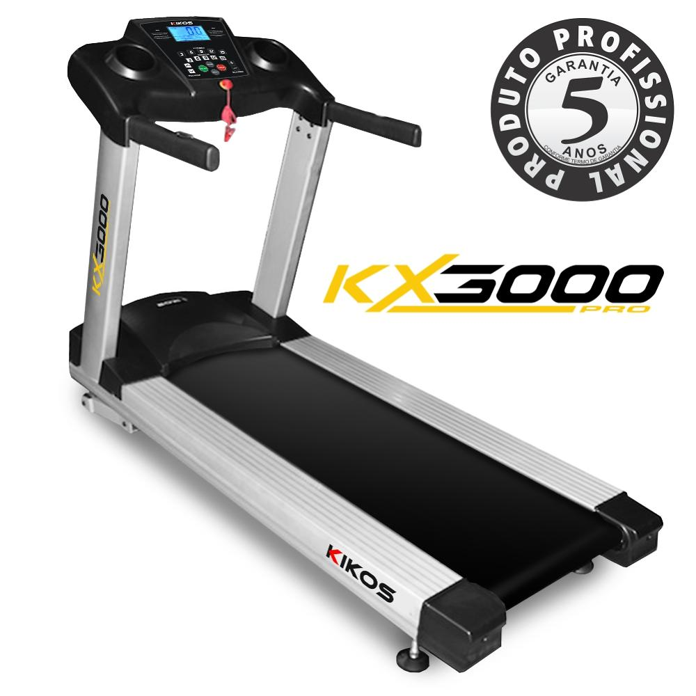 esteira kikos pro kx 3000 ac 12 hp 110v 2 big Esteira Elétrica Kikos KX3500